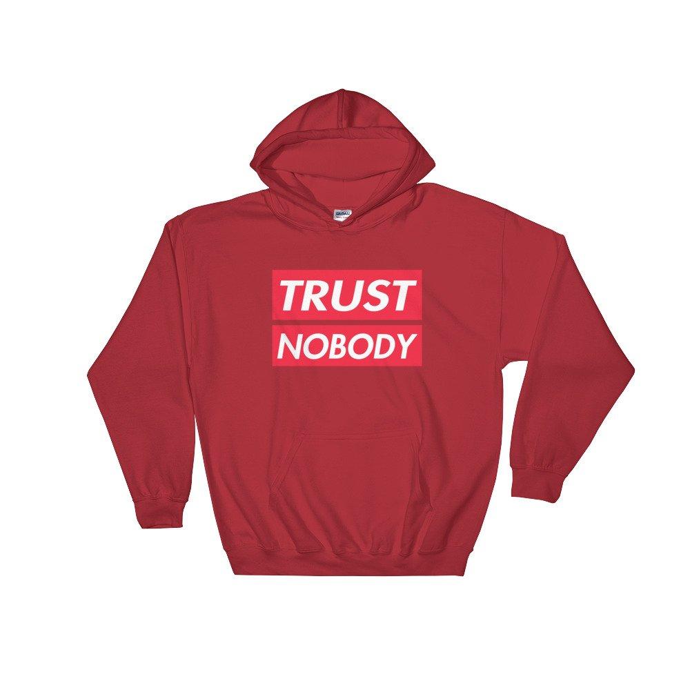 Hooded Sweatshirt Retro Hip Apparel Trust Nobody