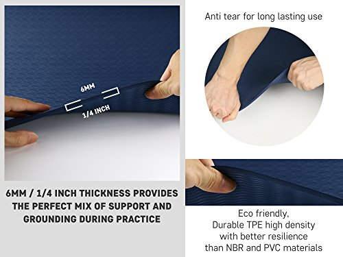 Yoga 1 Mat Towel, Blocks, Yoga Hand Case - Gift for Exercises Yogis and Seniors
