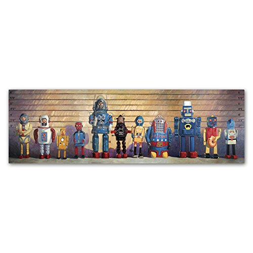 The Usual Suspects by Eric Joyner Wall Decor, 10 by 32