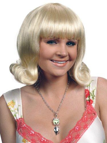 Enigma Wigs Women's Flip Joan, Blonde, One Size