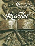 img - for The Cambridge Companion to the Recorder (Cambridge Companions to Music) book / textbook / text book