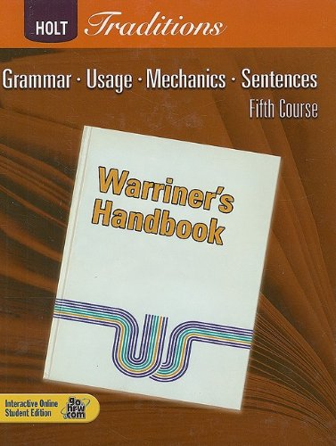 Warriner's Handbook, Fifth Course