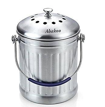 Abakoo Komposteimer Küche Komposteimer Komposteimer Premium Qualität ...