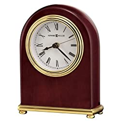 Howard Miller 613-487 Rosewood Arch Table Clock