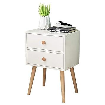 Amazon.com: Hohaski - Mesita de noche minimalista moderna ...