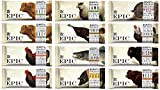 Epic Bars Variety 12 Pack - 100% Animal-Based Whole Protein, Not Your Typical Jerky (Beef, Turkey, Salmon, Chicken, Bison, Lamb, Wild Boar) …