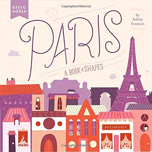 Paris Book Shapes Hello World