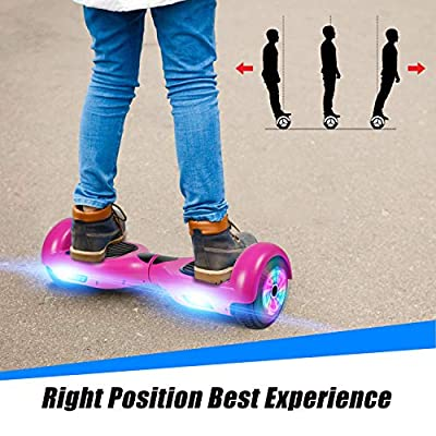 FLYING-ANT Hoverboards UL Certified 6.5 Smart Scooter Two-Wheel self Balancing Electric Scooter Light Free Bag and Charger Included: Sports & Outdoors