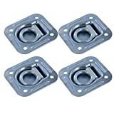Pan Fitting D-Ring (4-Pack) 5,000 Break Strength