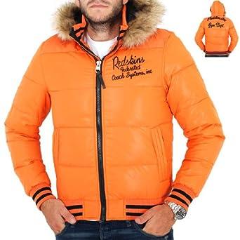 Redskins Blouson, Doudoune Homme homme Orange  Amazon.fr  Vêtements ... 07bc4ab089a4