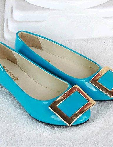 al talón beige uk3 Beige comodidad mujer negro pisos zapatos de azul rosa piel de eu35 Casual plano sintética cn34 aire PDX libre us5 xfY4Uwv1qv