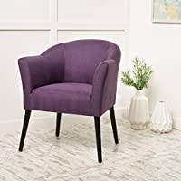 Christopher Knight Home 299474 Cosette Arm Chair, Plum