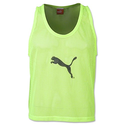 Polyester Training Bibs (Puma Men's Bib, Small, Fluro Yellow)
