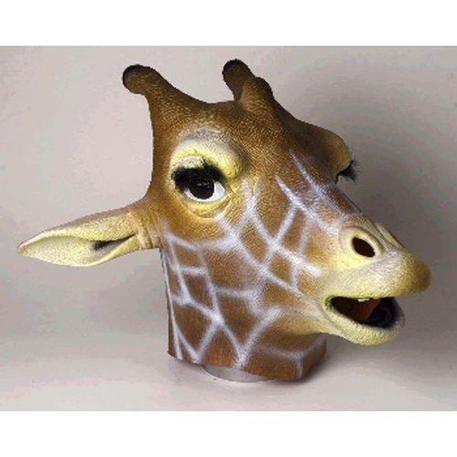Giraffe Mask : Deluxe Latex Animal Mask (Giraffe Deluxe Latex Mask)