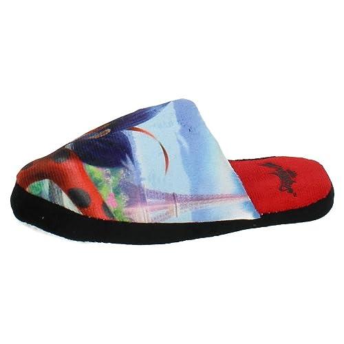 Zapatillas Prodigiosa Ladybug Pantuflas (30/31): Amazon.es: Zapatos y complementos