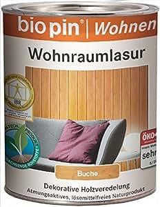 biopin 21621 - Barniz de horno (0,75 l), kiefergelaugt