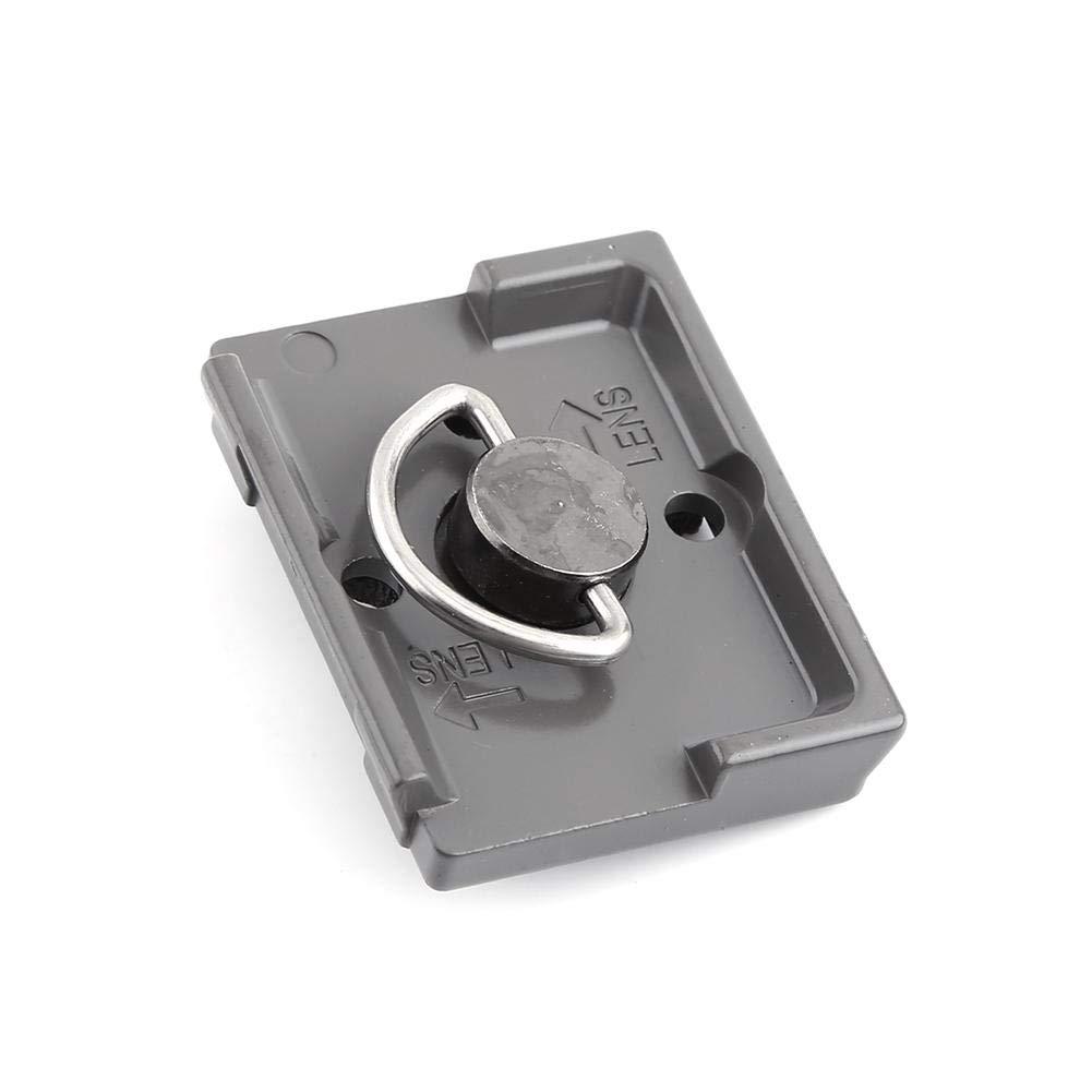 per manfrotto Vari Piastra di Attacco rapido per Piastra a sgancio rapido per Metallo 1//4 per Foro manfrotto 200PL-14