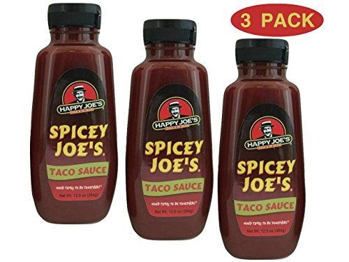 - Happy Joes Spicey Taco Sauce - Spicy