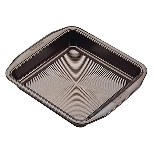 New 9 Inch Chocolate Square Non Stick Steel Baking Cake Pan with Kitchen Tools Combo