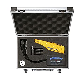 Image of Zircon Breaker ID Pro - Commercial & Industrial Complete Circuit Breaker Finding Kit/Compatible with Outlets up to 277V/ Professional Accessories Included