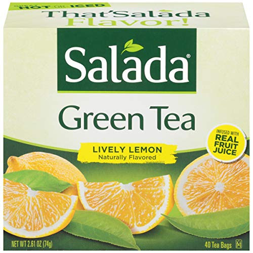 (Salada Lively Lemon Green Tea, 40 Tea Bags (Pack of 6))