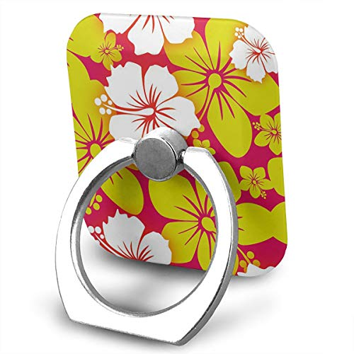 (FISHISOK Delightful Flowers Cell Phone Ring Holder, Finger Grip Stand Holder,360 Degrees Rotation,Compatible with iPhone,Samsung,Phone Case,etc)