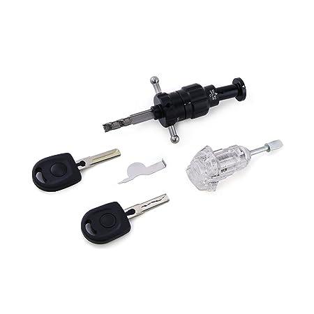 Lockmall HU66 - Cerradura transparente: Amazon.es: Bricolaje y herramientas
