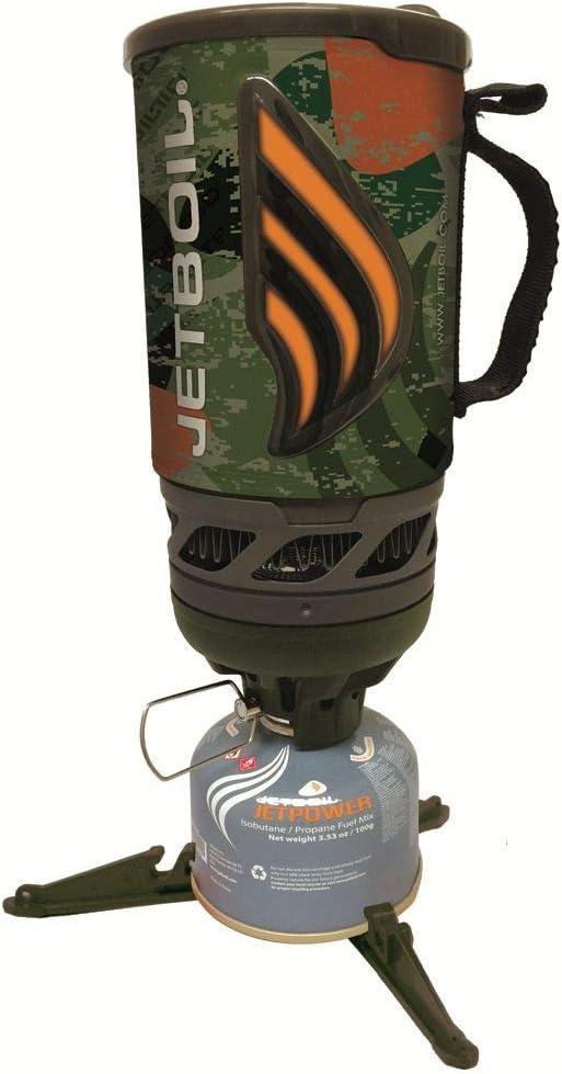 Jetboil Flash Jetcam - Hornillo (1 L): Amazon.es: Deportes y ...