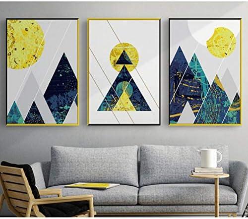Peinture moderne geometrique