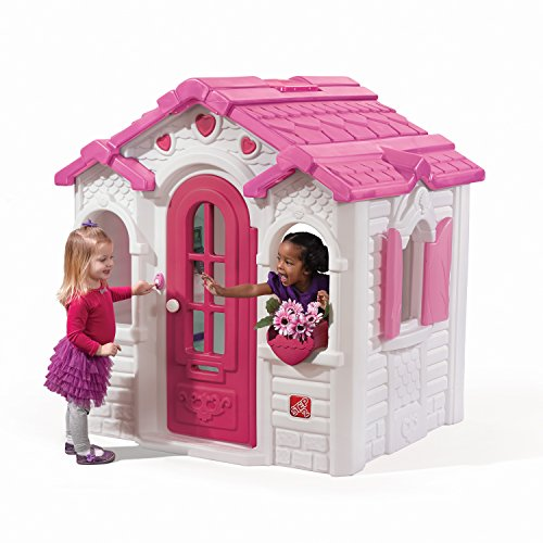 (Step2 Sweetheart Playhouse, Pink and White)