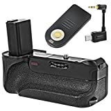 Minadax Battery Grip With Infrared Trigger and Interface for Sony A6000 | 100% Compatibility | Accurately Fitting