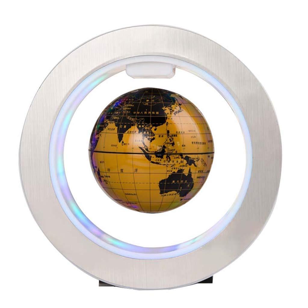 HUYYB Schwebender Globus mit LED-Licht, 6 Zoll 360 rotierenden elliptischen Basis Ausstellungsstand Anti Gravity Globe Weihnachten Kinder Neuheit Geschenk,schwarz B07L764HNJ | Sale Online Shop