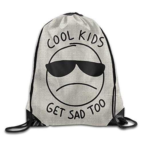 PADDI COOL KIDS GET SAD TOO Drawstring Gym Bag