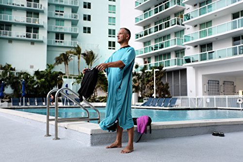 Privacy Changing Poncho Robe - Ultra Light - Cooling Towel - Over Heating Prevention by On Track