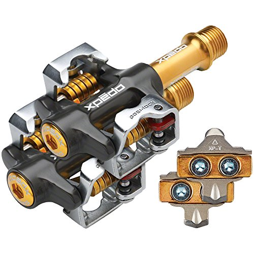 Xpedo Mountain Force Magnesium/Titanium Clipless Pedals MF-4A - Force Magnesium