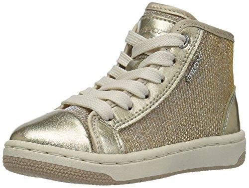 Geox J72L5A 0EWHI Sneakers Bambino Oro 26