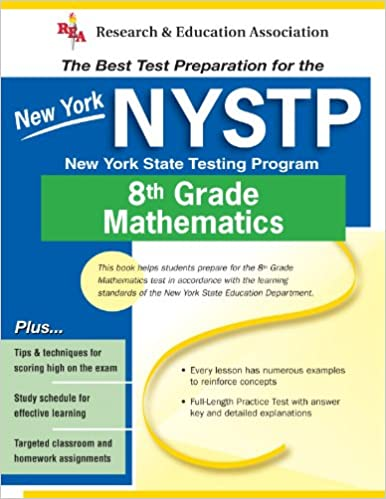 Buy Nystp 8th Grade Mathematics The Best Test Preparation Book