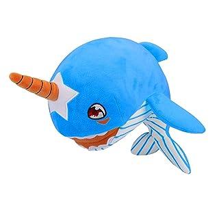 Adorabile Peluche farcito Musica Suono Giocattolo Ottimo Delfino Giocattolo con Peluche del Giocattoli per Bambini Carissimi Animali del Mare con Piccolo