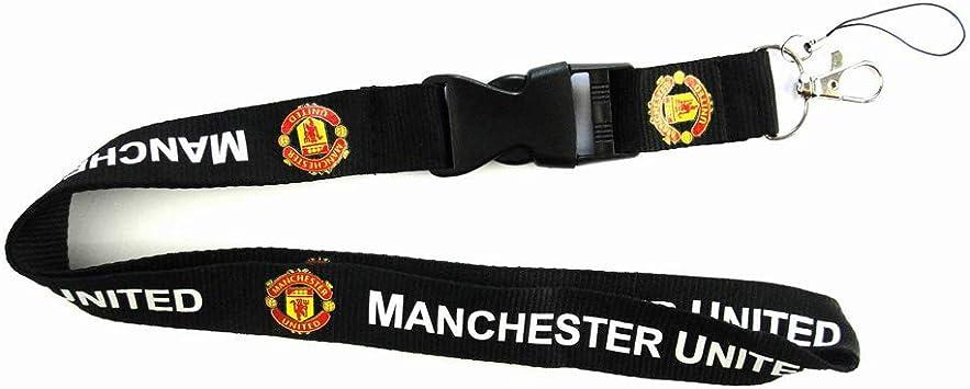 Manchester United Lanyard keyring keychain Football Club ID Phone Strap holder