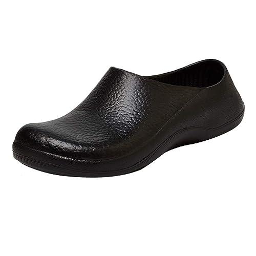 estilos clásicos bien fuera x original mejor calificado Haobing Zapatos Especiales para Cocina Hombre Antideslizante ...