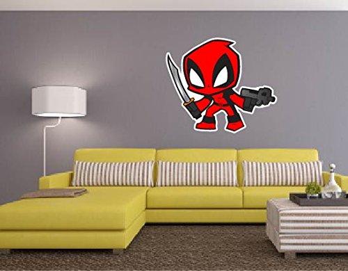 Deadpool Superhero Graphic Removable Sticker product image