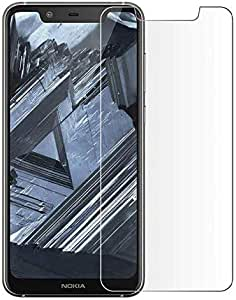 Nokia 5.1 Plus (Nokia X5) 2.5D Curved Full Coverage Tempered Glass Screen Protector -Clear