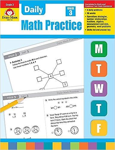 Amazon.com: Evan-Moor Daily Math Practice, Grade 3 - Teacher\'s ...