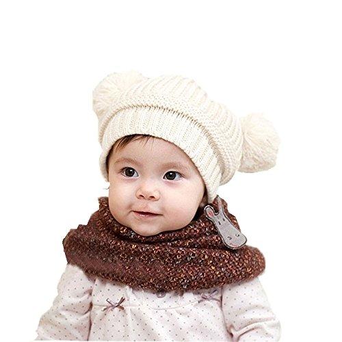 start-baby-beanie-unisex-toddler-cute-dual-balls-warm-winter-knitted-cap-girl-boy-hats-white