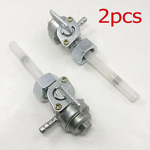 (2pcs New Gas Fuel Valve Petcock Assembly For Honda Urban Express NU50)
