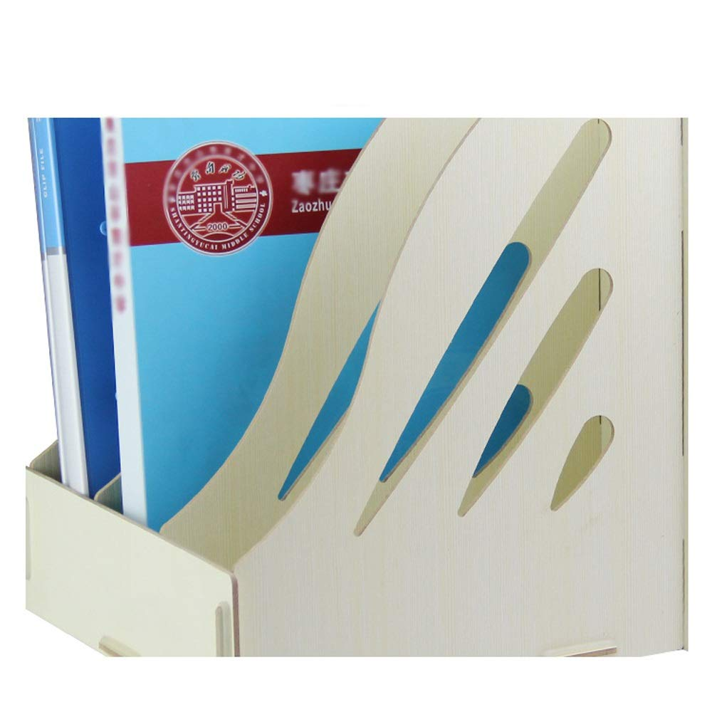 GaoJinZhuan Hölzerne Bürobedarf Desktop Desktop Desktop A4 Propaganda Grünikale Datei Informationen Frame Frame Bücherregal (Farbe   Maple Farbe) B07KX9J97D | Auktion  ca0702