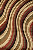 Rugs America Capri Area Rug, 5-Feet 3-Inch by 7-Feet 10-Inch, Soho
