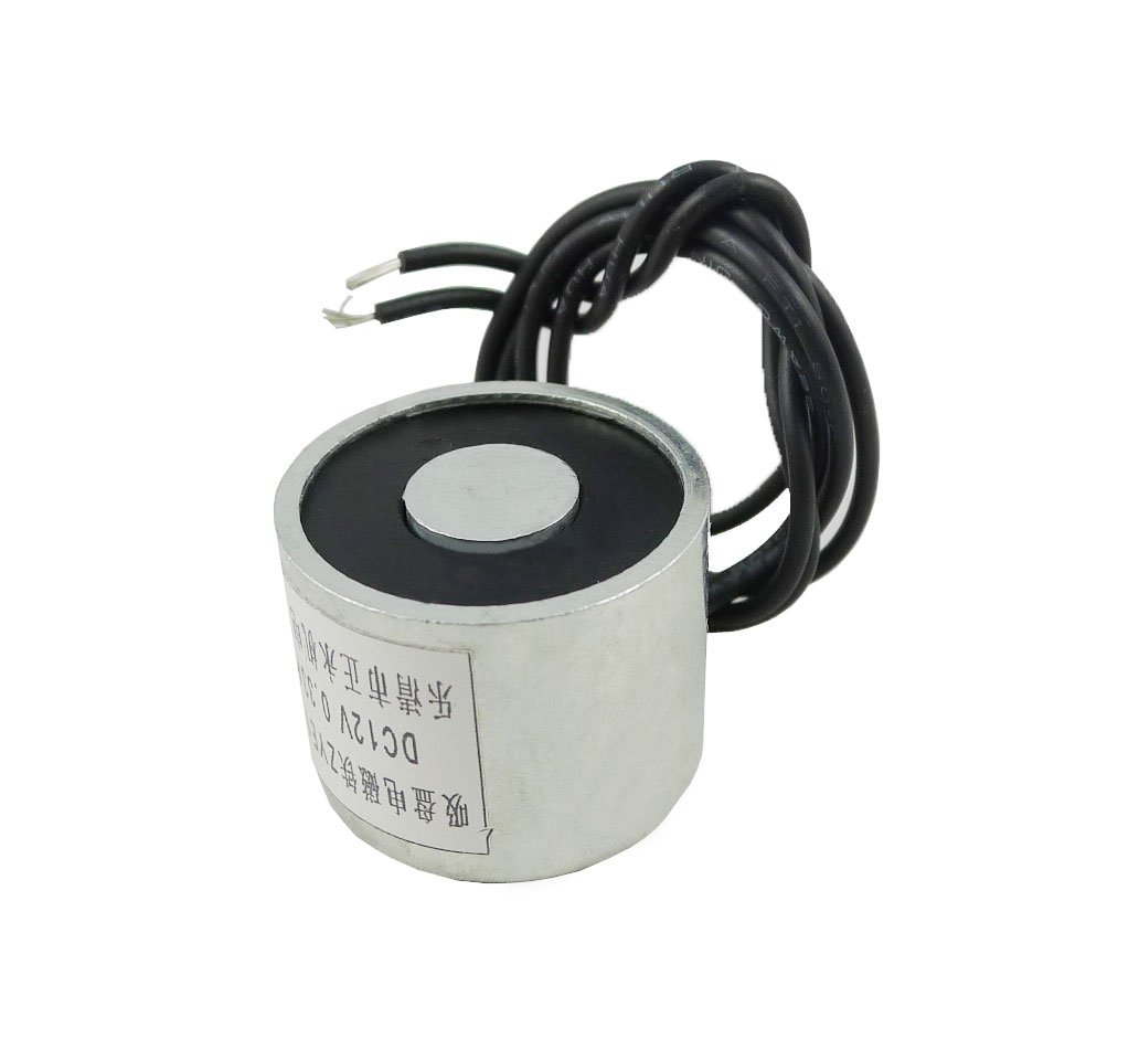 Aihasd DC 12V 4W Electric Lifting Magnet 11LB 5Kg Holding Electromagnet Lift Solenoid Apple Trees E-commerce co. LT