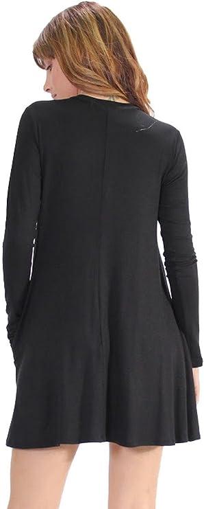 Elan Long Sleeve Dress//Tunic with Pockets