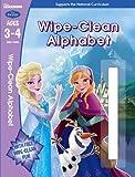 Frozen: Wipe-Clean Alphabet Ages 3-4 (Disney Learning)